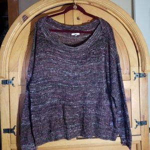 Maurices XXL lightweight sweater, open weave
